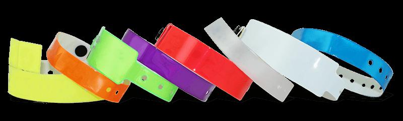 Bracelets en vinyle non personnalisés