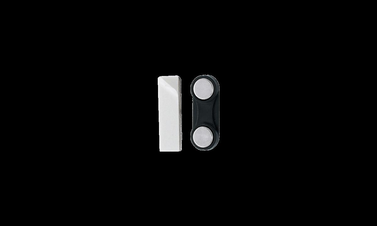 Mini Attache Magnétique Adhésive - Coque Plastique
