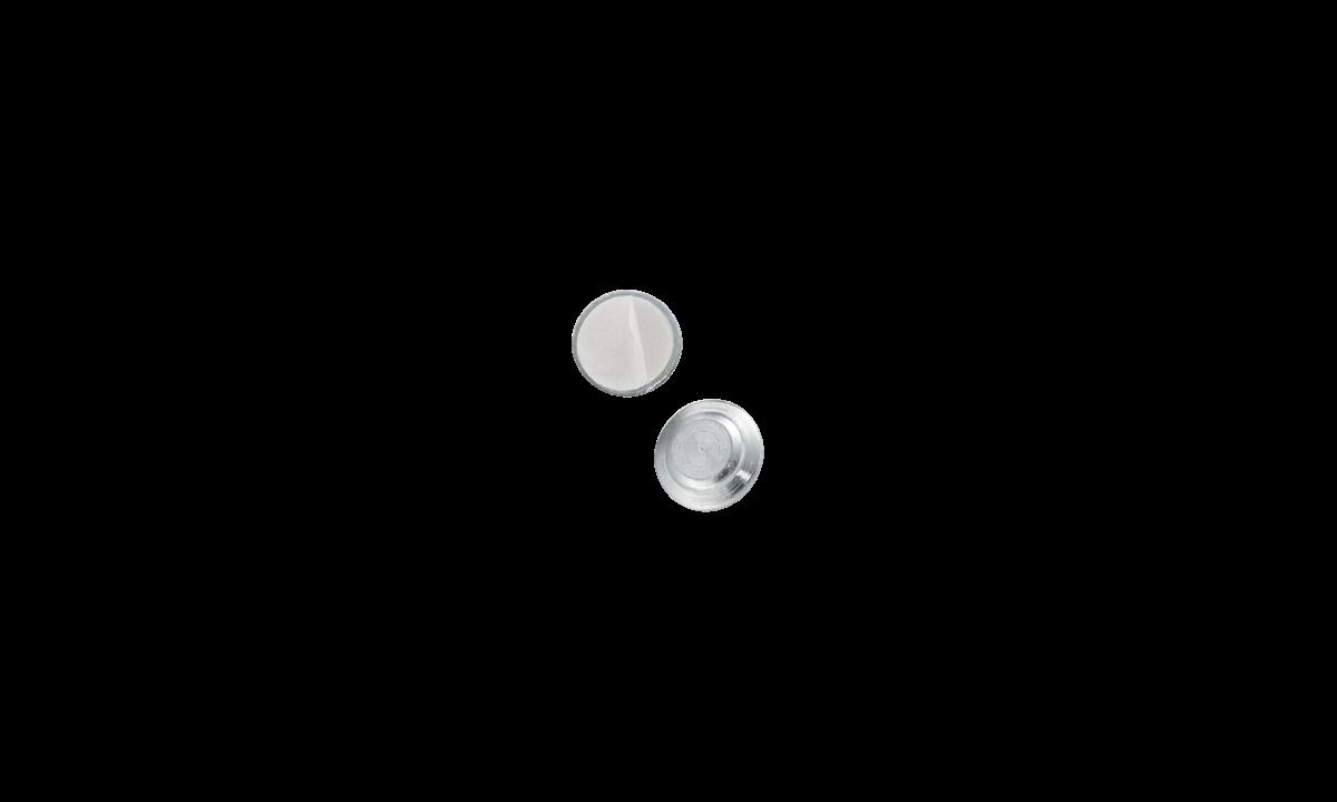 Attache Magnétique Adhésive - Coque Métallique Ronde