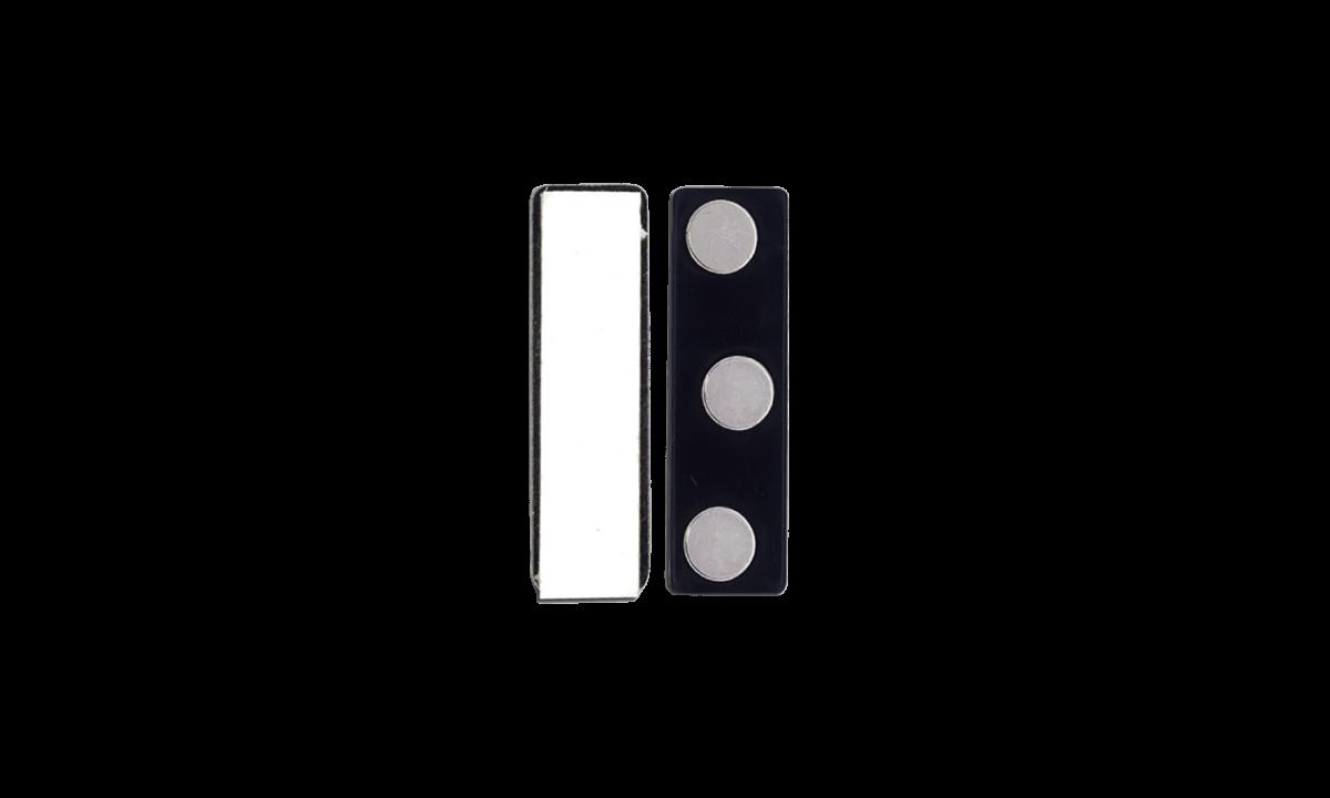 Attache Magnétique Adhésive - Coque Plastique (3 Aimants)