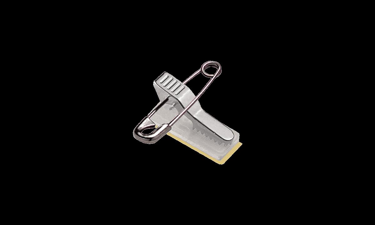 Attache Pince-Epingle Métal sur Base Adhésive
