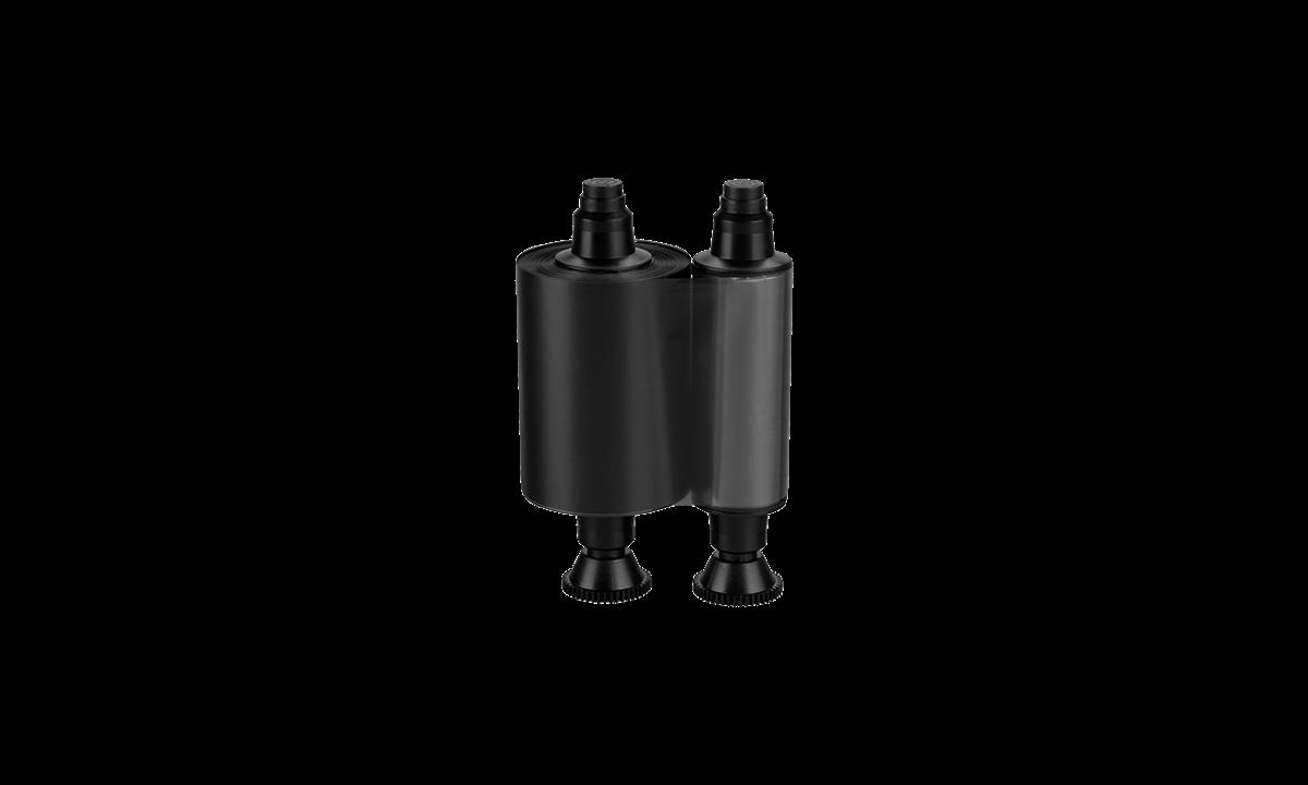 Cassette de Rubans Monochrome Noir pour Imprimante Zenius & Primacy