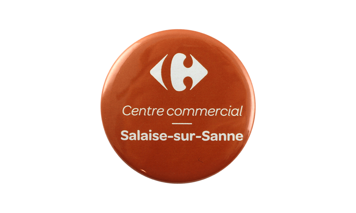 Badges Boutons 56 mm, rond