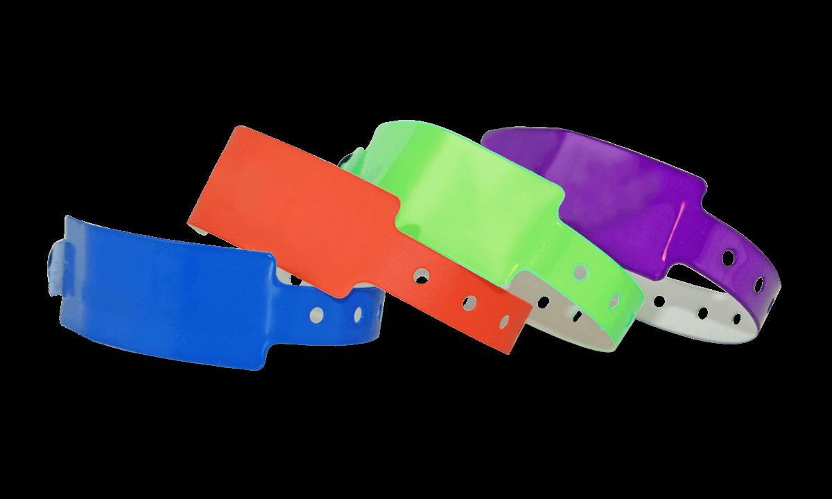 Bracelets en Vinyle 25 mm, sans impression