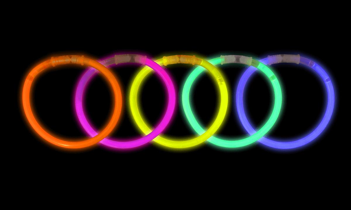 Bracelets Lumineux de différentes couleurs