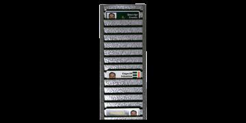 Porte-Badges Mural Métallique (pour 40 cartes à l'horizontal)