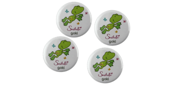 Badges Boutons 32 mm, rond