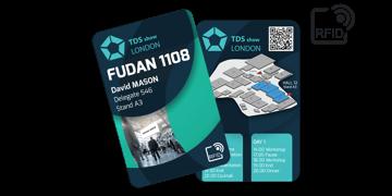 Cartes RFID 133 x 85 mm Imprimées - Puce Fudan 1108