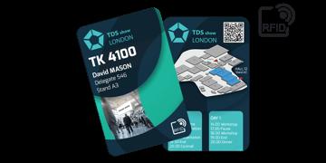Cartes RFID 133 x 85 mm Imprimées - Puce TK 4100