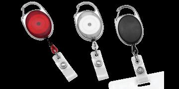 Zip Enrouleur Premium avec Mousqueton