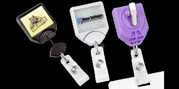 Zip Enrouleur B-Reel® avec Pince Rotative et Personnalisation