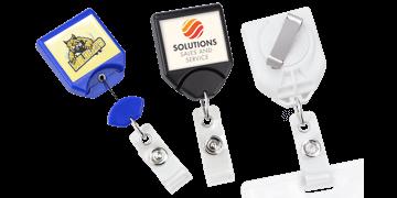 Zip Enrouleur B-Reel® avec Clip-Ceinture Rotatif et Personnalisation