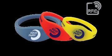 Bracelets RFID réutilisables en silicone