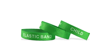 Bracelets élastiques personnalisés, taille enfant / petite